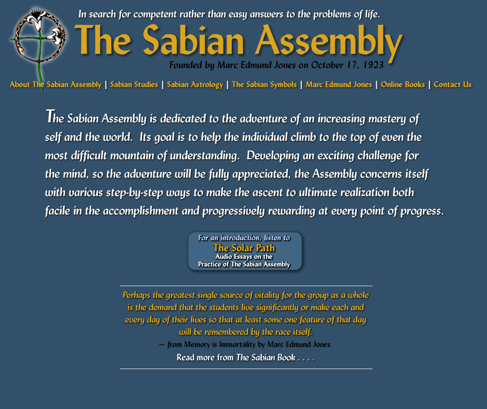 The Sabian Assembly